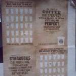 Starbucks outdoor advertisement