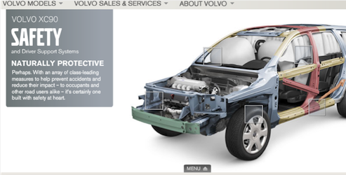 Volvo | nd positioning | Safety | Keep your nd focus on safety ...