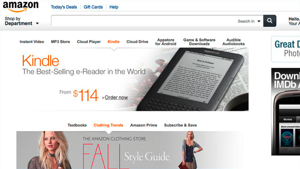 Amazon.com, the online retailer where we used to shop