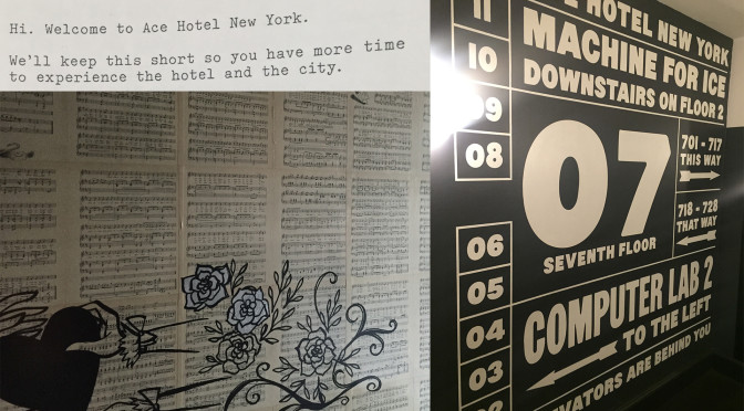 Ace Hotel: be different by really doing different