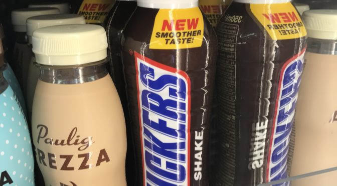 Snickers Shake! Do the Flip test