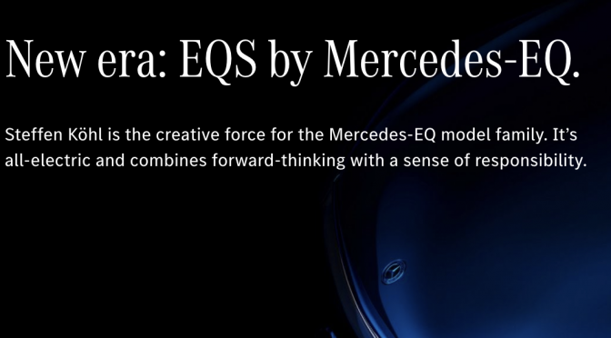 Mercedes-Benz transitioning to electric